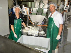 Australian Buffalo cheese makers, Wendy Burgess and Mitch Humphries